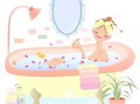 入浴,更年期障害,更年期障害症状改善,半身浴,入浴剤,アロマバス,バスタイム